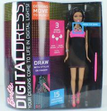 Mattel Year 2013 Barbie Digital Dress Doll with LED Dress that Lights Up NEW!