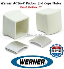 Werner AC36-2 - Rubber End Caps & Plates - For Use On Werner Ladder Stabilizers