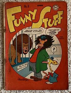 Funny Stuff #8 April 1946 Sheldon Mayer White Pages!
