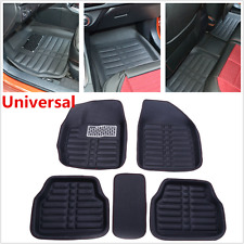 All Weather Car Floor Mats Front& Rear Liner Auto Waterproof 5pcs Universal Mats