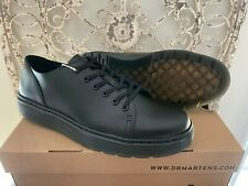 DR. MARTENS Men's (11 UK) 12 US Black Brando Dante 6 Eye Raw Fusion Sneaker Shoe