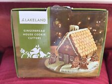 Lakeland Gingerbread House Christmas Cookie Cutters