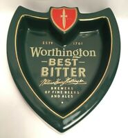 Vintage Worthington Brewers Of Fine Beer And Ales Ashtray William Henry