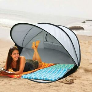 Beach Tent SunscreenSunshade Automatic Speed Open Collapsible Fishing DoubleTent