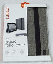 Cygnett Node Folio case for iPad Air, Gray weave, New