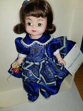 "Madame Alexander 8"" Happy Chanukah Doll with No Box"