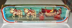 Vintage Corgi Toys 1902 State Landau-Queen's Silver Jubilee 1977--17 with sleeve