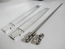 "Aluminum 6"" Frame extension & extended Drive shaft Tamiya 1/14 Semi King Hauler"