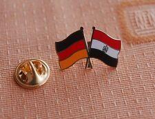 Freundschaftspin Deutschland Ägypten Pin Button Badge Anstecker Flaggenpin AF