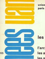 25 Annees UAM Le Corbusier Herbst Prouve Puiforcat Eileen Gray Jourdain Perriand