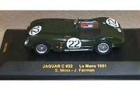 IXO LMC017 LMC029 LMC086 JAGUAR diecast model cars Le Mans 1951 / 55 / 90 1:43rd