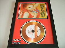 BELINDA CARLISLE     SIGNED  GOLD CD  DISC 9