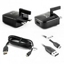 2 X HTC Genuine TC P800-UK 5.0V 1.0A UK Plug USB Charging Adapter for HTC!!