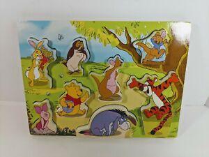 Melissa & Doug Disney Winnie The Pooh Wooden Chunky Puzzle #7183
