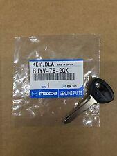 Genuine OEM Mazda Uncut Primary Transponder Key Blank 626 Miata MPV BJYV-76-2GX