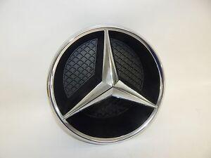 "*8"" Diameter* OEM 2016-17 Mercedes-Benz Front Grill Grille Emblem Star & Housing"