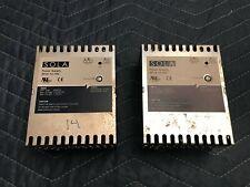 Lot Of 2 Sola Sfl6 12 100 12 Volt 6 Amp Dc Power Supply