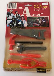 Rare 1983 Fleetwood The A-Team B.A's Fix-It Playset Mr. T Vintage MOC MIP
