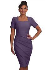 Seed Kensington Dress Dusty Lilac Size XL Ladies UK Size 16 Box45 28 A