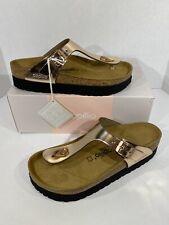 Papillio By Birkenstock Gizeh PAP Women's Sz 8(38)Reg Met-Copper Sandals KB-2075