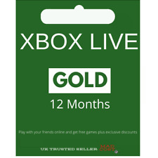 XBOX LIVE GOLD 12 Months Membership (Code) - Read Description