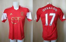 FC Southampton #17 Osvaldo 2013/2014 Home Size S Adidas football shirt jersey
