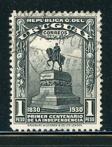 URUGUAY MH Selections: Scott #405 1P Independence Centenary CV$3+