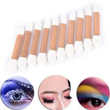 10PCS/Lot Makeup Double-end Eye Shadows Eyeliners Brush Sponge Applicators Tool