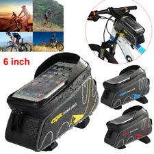 Fahrradtasche Rahmen Tasche Handy Oberrohrtasche Touchscreen Smartphone 6 inch