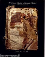 Catalogue vente Dessin ancien Mobilier XVIIIe Style Louis XVI FORAIN DE LALONDE