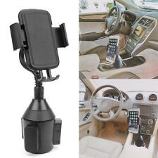 Universal Adjustable Gooseneck Cup Holder Cradle Car Mount For Phone iPhone LG