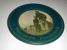 Norman Rockwell LOOKING OUT TO SEA Metal Tin Collector's Plate Limited Ed