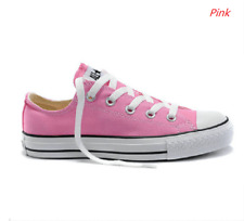 Pink Women Lady ALL STARs Chuck Taylor Ox Low Top classic Canvas Sneakers US7.5