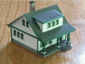 HO Scale Lasalle House 3D printed kit High Detail (Gray)