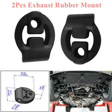 2Pcs Universal Car Auto Rubber Exhaust Tail Pipe Mount Bracket Hanger Insulator