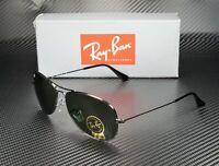 RAY BAN RB3362 004 Cockpit Gunmetal Crystal Green 56 mm Men's Sunglasses