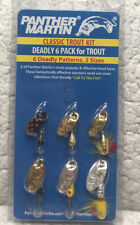 Panther Martin Classic Trout Kit Deadly 6 Pack 6 Spinners All New LT4