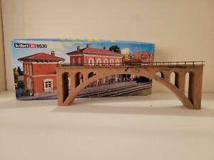 Kibri HO Scale: 9530 Viaduct Bridge-Pre Built !