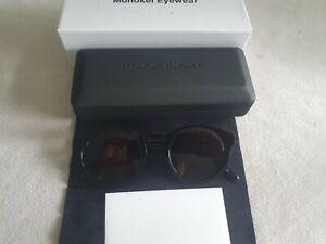 Monokel glasses frames. Barstow. Black or Black/White Havana. New. Unisex.