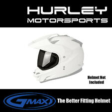 GMAX GM11D GM11S GM11 D/S - Helmet Face Shield - Single Lens - SMOKE - G011033