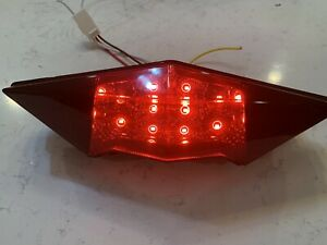 Can Am Outlander - Aftermarket convert to LED Smoked Tail Light - turn signal
