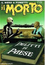 Fumetto Noir IL MORTO n.26
