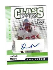 DonTrell Moore 2006 Topps DPP Class Marks Autograph Card, # CM-DM.
