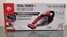 Dirt Devil Quick Flip Plus Cordless 16V Lithium Ion Bagless Handheld Vacuum