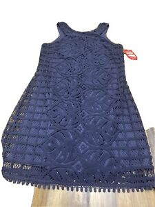 lilly pulitzer Blue lace dress small