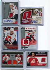 05-06  ERIC NYSTROM  6 CARDS ROOKIE LOT  RC AUTO PATCH /349 + JSY + YOUNG GUNS