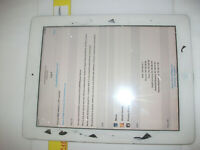 Apple iPad 2 16GB, Wi-Fi, 9.7in - White***ID LOCKED ETC READ***
