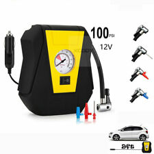 Auto Portable Tire Inflator Car Air Compressor Electric Pump DC 12V Volt 100 Psi