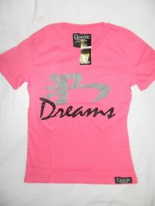 BOXA Girls Pink Boxing T Shirt DREAMS Anthony The Man Mundine BRAND NEW Womans T