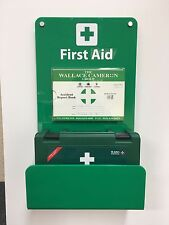 First Aid Perspex Acrylic Wall Mounted Information Point Kit